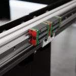 Linear guide rail carriage on one of our CNC plasma tables