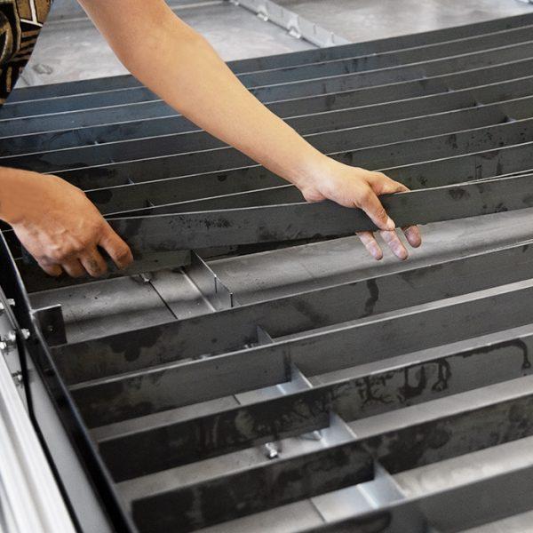 STVCNC Water pan slats