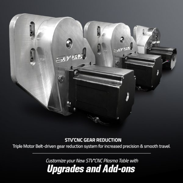 STVCNC Gear Reduction