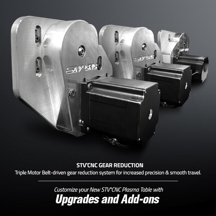 STVCNC Gear Reduction