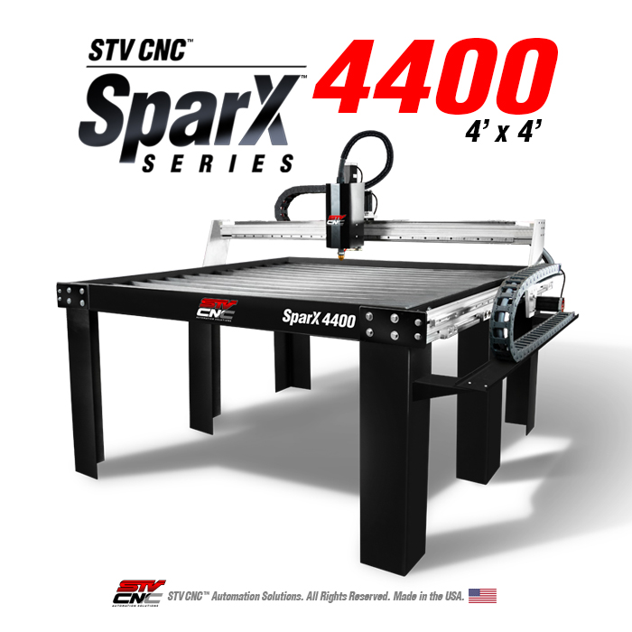 4x4 CNC Plasma Table