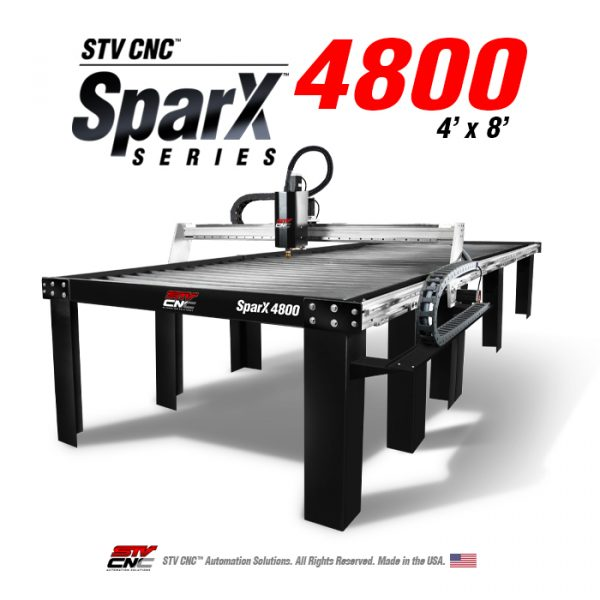 4x8 CNC Plasma Table