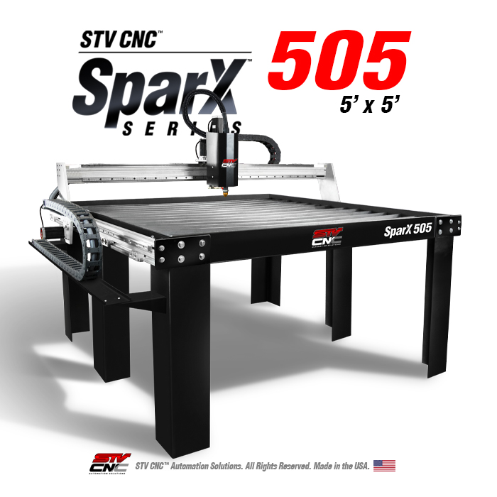 5x5 CNC Plasma Table