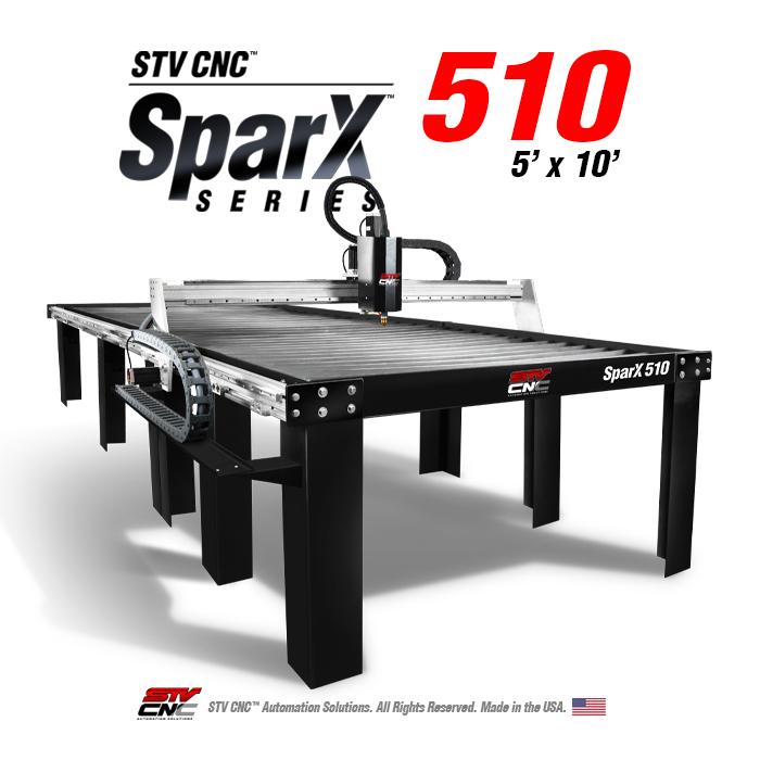 Stv Cnc Sparx 510 Plasma Table