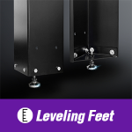 STVCNC Leveling Feet