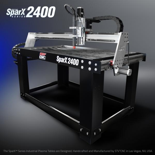STVCNC Plasma Table 2x4 Sparx2400