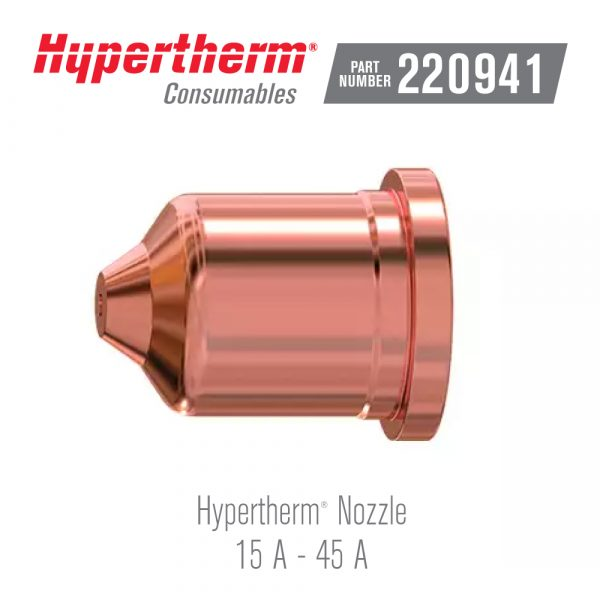 Hypertherm® Consumables 220941 Nozzle