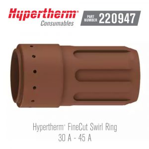 Hypertherm® Consumables 220947 Swirl Ring FineCut®