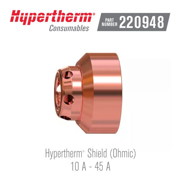 Hypertherm® Consumables 220948 Shield Ohmic FineCut®