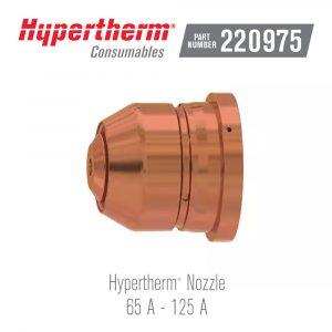 Hypertherm® Consumables 220975 Nozzle 125A