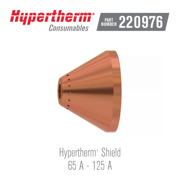 Hypertherm® Consumables 220976 Shield 125A