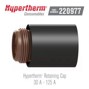 Hypertherm® Consumables 220977 Retaining Cap 125A
