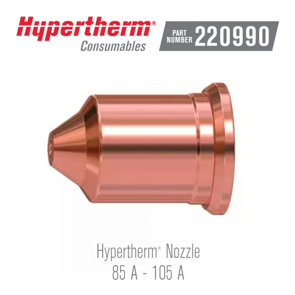 Hypertherm® Consumables 220990 Nozzle 105A