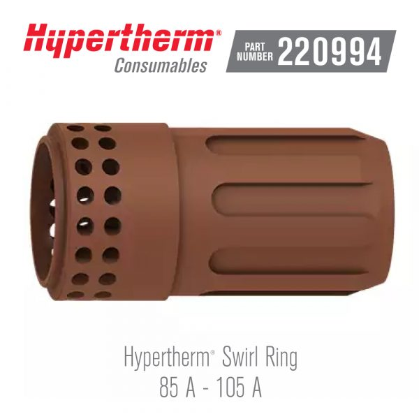 Hypertherm® Consumables 220994 Swirl Ring 105A