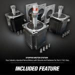 industry standard nema stepper motor system